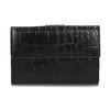 Dámská kožená peněženka se strukturou bata, černá, 944-6617 - 26