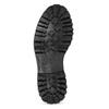 Dámská kožená metalická kotníčková obuv bata-125th-anniversary, černá, 549-6604 - 18