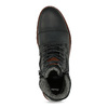 Černá pánská kožená kotníčková obuv bata, černá, 896-6747 - 17