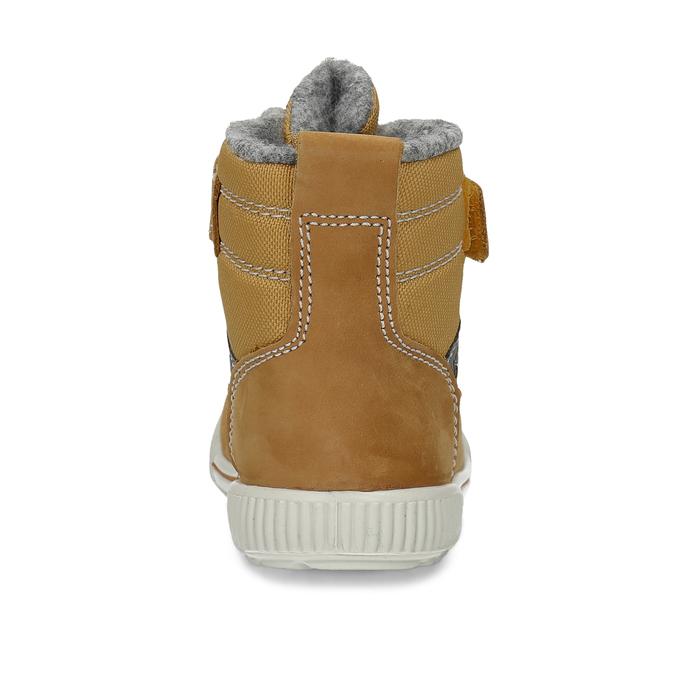 Žlutá dětská kotníčková zimní obuv primigi, žlutá, 199-8615 - 15