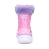 Růžové dětské sněhule s fialovým kožíškem skechers, růžová, 399-5111 - 15