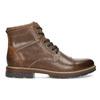 Pánská hnědá kotníčková zimní obuv bata-red-label, hnědá, 891-3610 - 19