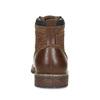 Pánská hnědá kotníčková obuv s prošitím bata-red-label, hnědá, 891-3608 - 15