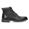 Černá pánská kotníčková zimní obuv bata-red-label, černá, 891-6608 - 19