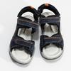 Sandály modré kožené weinbrenner, modrá, 463-9618 - 16