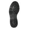 Metalická dámská kožená kotníčková obuv bata-125th-anniversary, hnědá, 549-4604 - 18