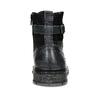 Kožená pánská kotníčková obuv s přezkou bata, černá, 896-6600 - 15
