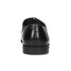 Pánské černé kožené Oxford polobotky bata, černá, 824-6671 - 15