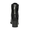 Černé dámské kožené kozačky bata, černá, 694-6607 - 15
