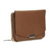 Hnědá dámská kožená peněženka bata, hnědá, 944-3614 - 13