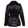 Prošívaná zimní bunda v kimono střihu bata, černá, 979-6198 - 26