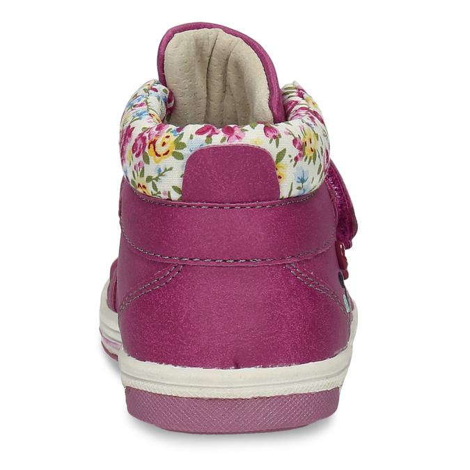Růžová dětská kotníčková obuv bubblegummers, růžová, 121-5624 - 15