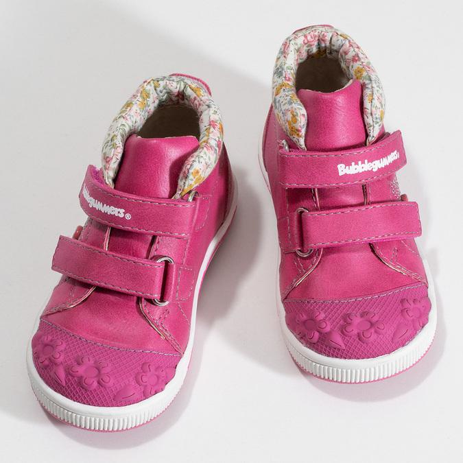 Růžová dětská kotníčková obuv bubblegummers, růžová, 121-5624 - 16