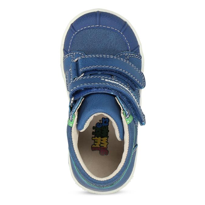 Modré dětské kotníčkové tenisky bubblegummers, modrá, 111-0633 - 17
