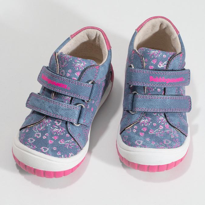 Modrá dětská kotníčková obuv bubblegummers, modrá, 121-9625 - 16