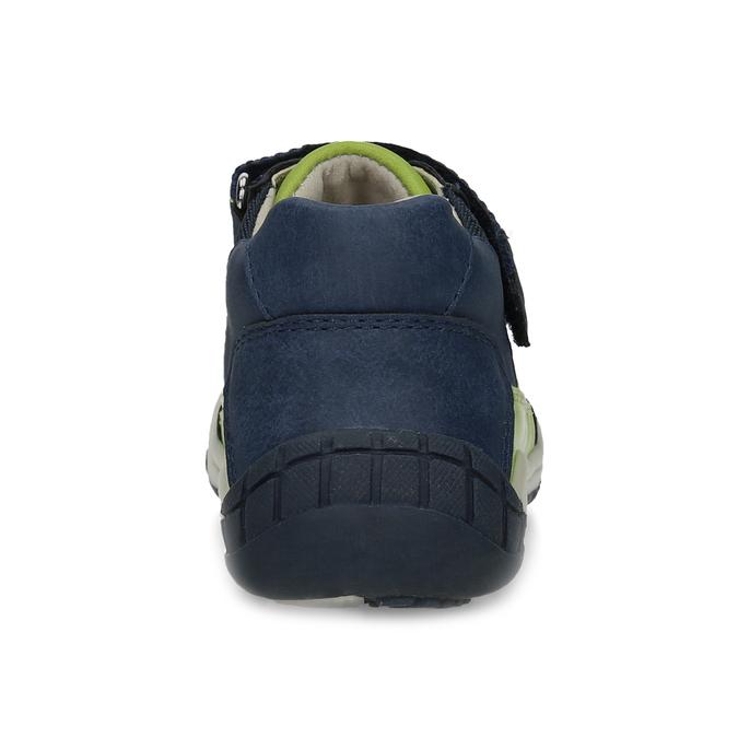 Modrá dětská kotníčková obuv bubblegummers, modrá, 111-9634 - 15