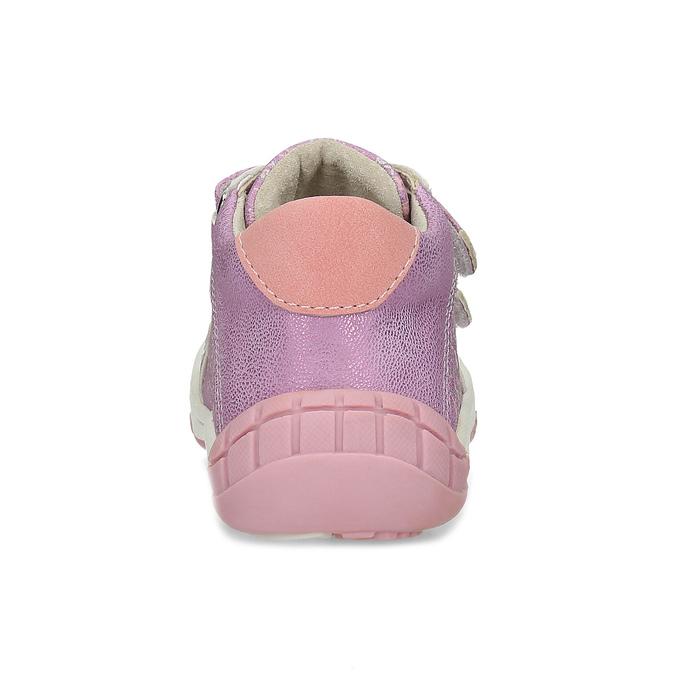 Dětská fialová kotníčková obuv bubblegummers, fialová, 121-5625 - 15