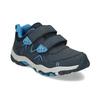 Modré dětské tenisky na suché zipy mini-b, modrá, 411-9617 - 13