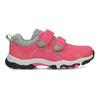Dětské růžové tenisky na suché zipy mini-b, růžová, 421-5617 - 19
