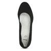 Dámské černé lodičky na stabilním podpatku bata, černá, 629-6603 - 17