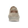 Dámské hnědé kožené tenisky s perforací weinbrenner, béžová, 546-4601 - 15