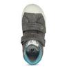 Dětské šedé kotníčkové tenisky mini-b, šedá, 211-2636 - 17