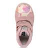 Růžové dětské kožené kotníčkové tenisky bubblegummers, růžová, 124-5611 - 17