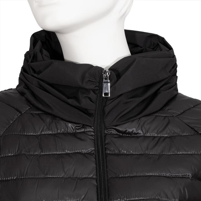 Dámská černá prošívaná bunda bata, černá, 979-6255 - 16