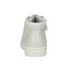 Dětské stříbrné kotníčkové tenisky mini-b, stříbrná, 221-1624 - 15