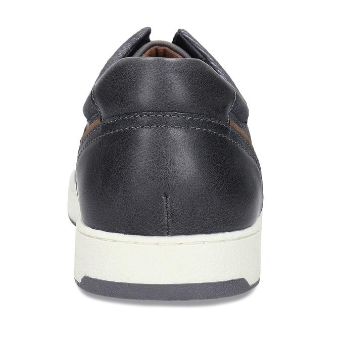 Pánské šedé tenisky městského stylu bata-red-label, šedá, 841-2627 - 15