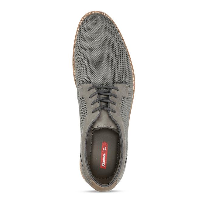 Pánská šedá vycházková obuv bata-red-label, šedá, 829-2606 - 17