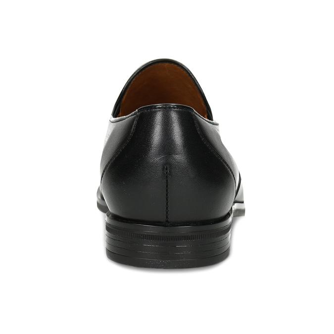 Pánské kožené černé mokasíny Conhpol conhpol, černá, 814-6723 - 15