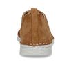 Hnědé dámské polobotky z broušené kůže bata, hnědá, 523-4606 - 15