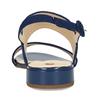 Dámské kožené modré páskové sandály hogl, modrá, 563-9103 - 15
