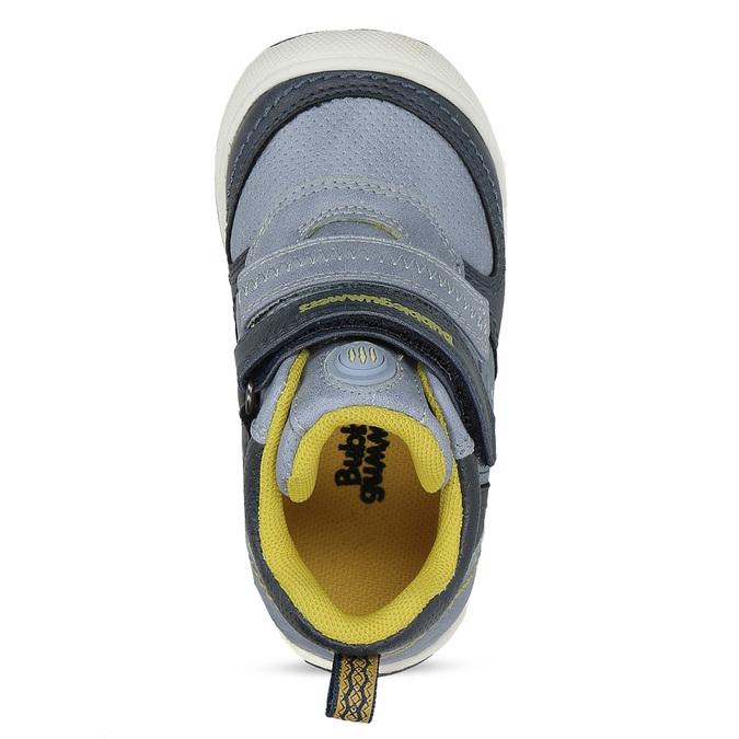 Modrá dětská kotníčková obuv bubble-breathe, modrá, 111-9605 - 17