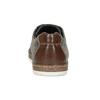 Pánské šedé polobotky z broušené kůže bata, šedá, 823-2609 - 15