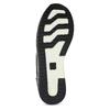 Černé tenisky na flatformě se třpytkami bata-light, černá, 541-6614 - 18