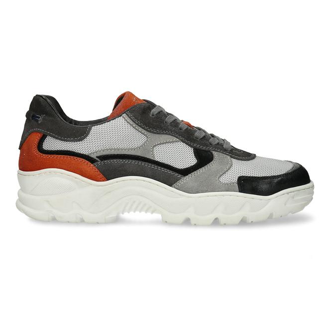Pánské Chunky tenisky šedé bata, šedá, 846-2601 - 19