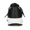 Dámské černé žíhané tenisky bata-light, černá, 541-6615 - 15