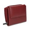 Červená dámská kožená peněženka bata, červená, 944-5634 - 13