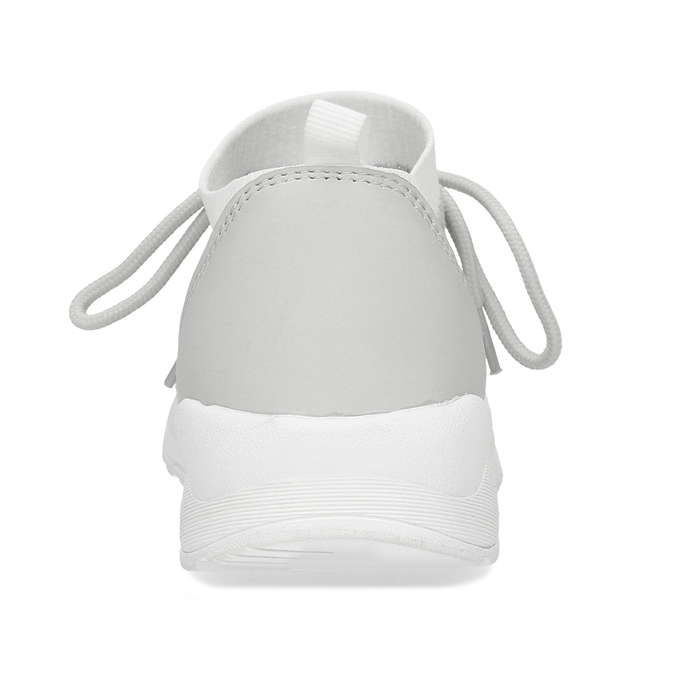 Dámské šedé textilní tenisky bata-light, šedá, 541-1612 - 15