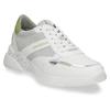 Dámské bílé tenisky se zelenými detaily bata, bílá, 546-1606 - 13