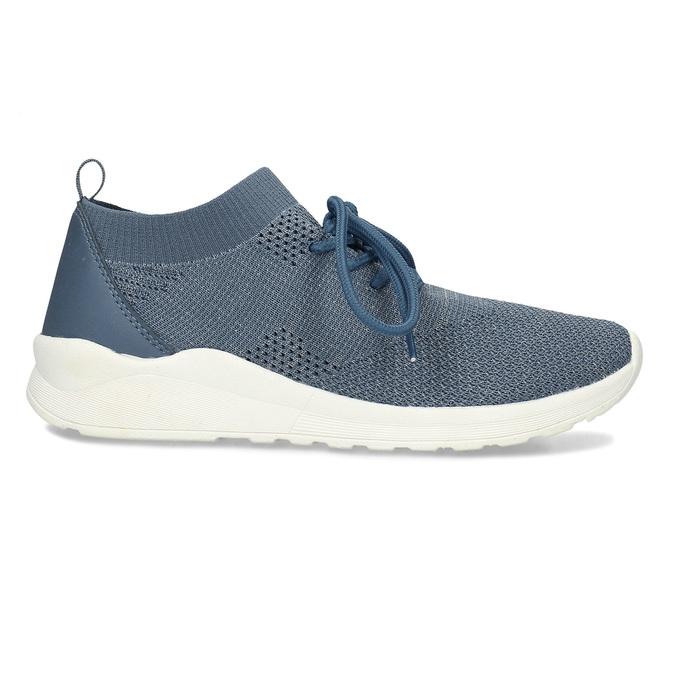 Dámské modré textilní tenisky bata-light, modrá, 541-9612 - 19