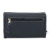 Dámská tmavě modrá peněženka s bílým prošitím bata, modrá, 941-9636 - 16