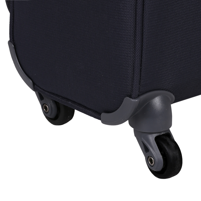 Malý černý kufr na kolečkách samsonite, vícebarevné, 960-0137 - 16