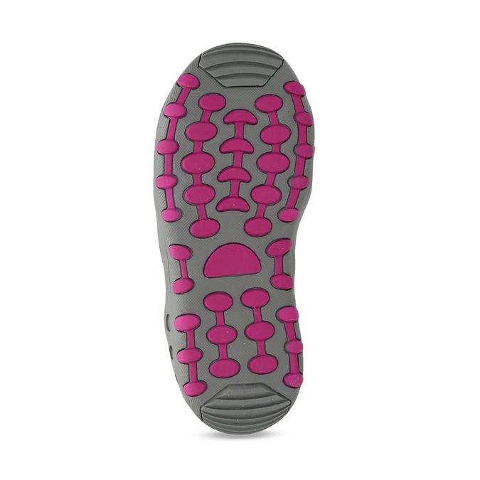 Dětské modré sandály s růžovými detaily mini-b, modrá, 461-9706 - 18