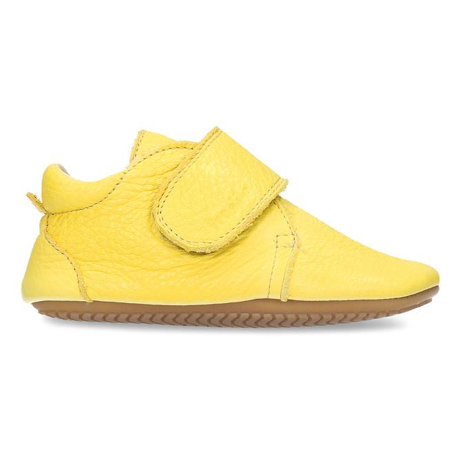 DOMÁCÍ OBUV DĚTSKÁ ŽLUTÁ KOŽENÁ froddo, žlutá, 104-8600 - 19