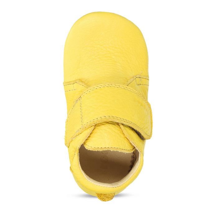 DOMÁCÍ OBUV DĚTSKÁ ŽLUTÁ KOŽENÁ froddo, žlutá, 104-8600 - 17