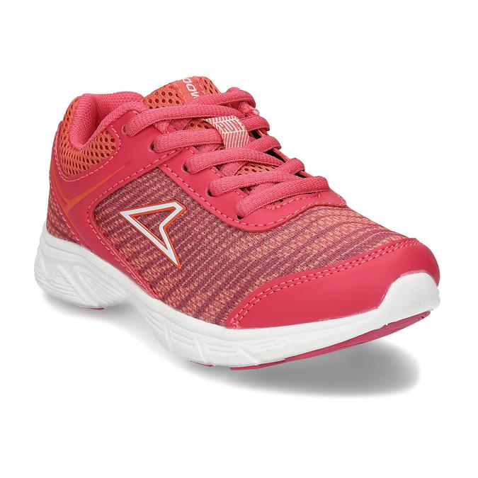Tmavě oranžové dívčí sportovní tenisky power, růžová, 309-5530 - 13