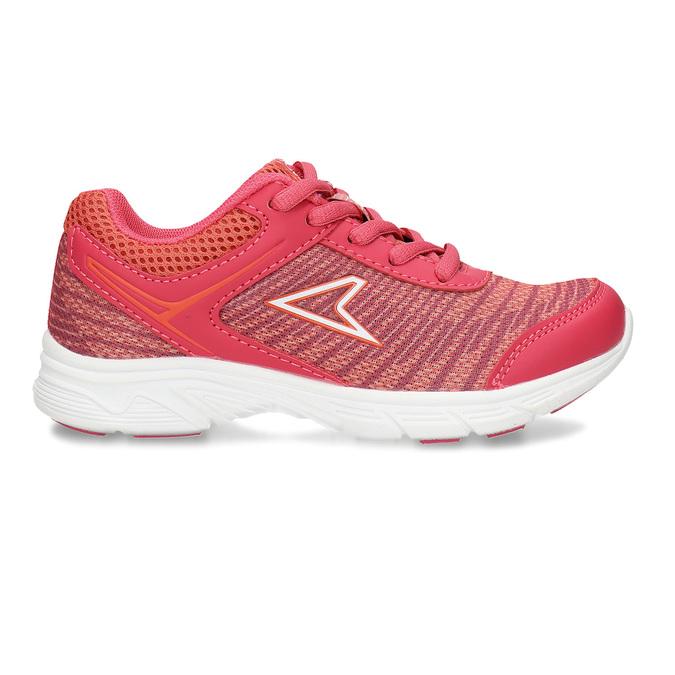 Tmavě oranžové dívčí sportovní tenisky power, růžová, 309-5530 - 19